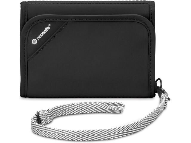 Pacsafe RFIDsafe V125 Tri-Fold Wallet Black